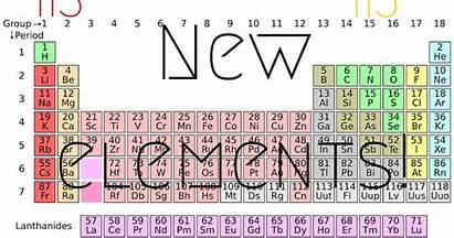 Periodic Discovered Elements