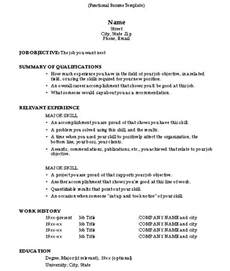 capabilities for resume exles resume format how to write a resume