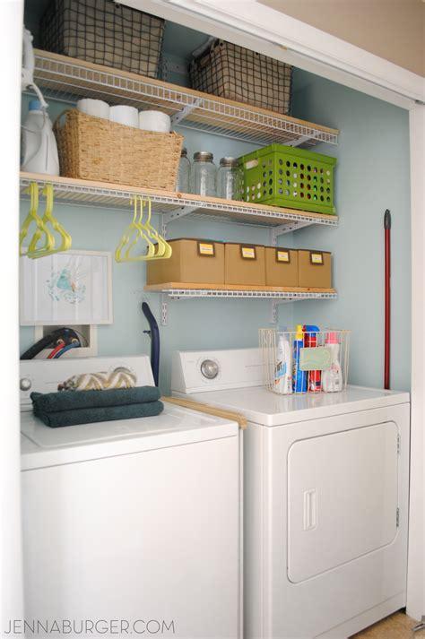 """Laundry Room """"closet"""" {reveal}  Jenna Burger"""