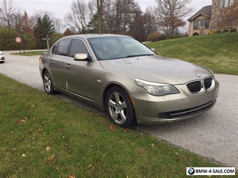 2008 Bmw 5-series Sedan For Sale In United States