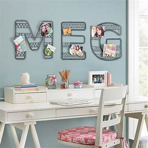 wire wall letters from pottery barn best home news ll With pottery barn wall letters