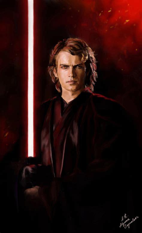 Anakin Dark Side By Alyonaskywalker On Deviantart