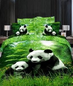 3D Panda Bedding