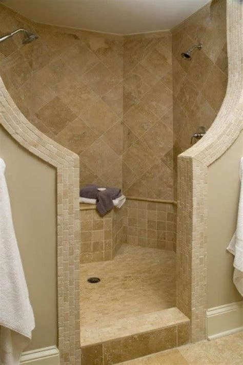 bathroom walk in shower designs compact and accessible bathroom ideas with walk in showers with no door homesfeed