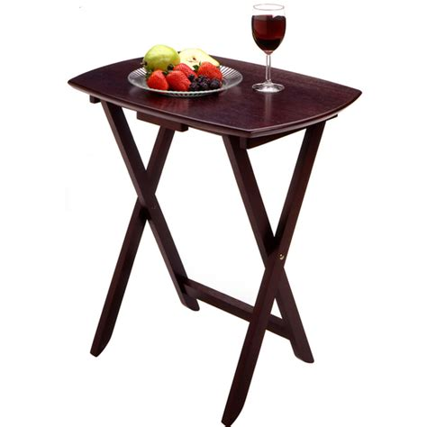 winsome wood tv tables set of 4 free shipping