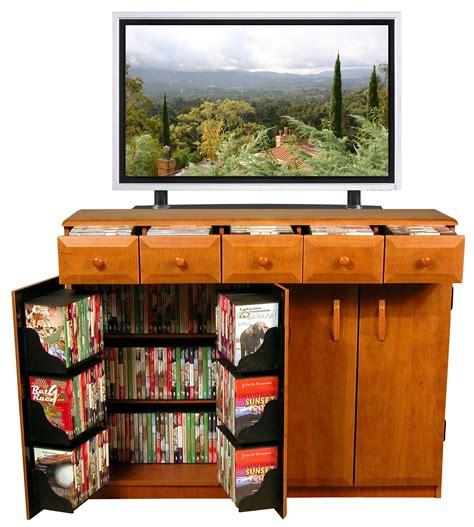 Dvd Closet Storage by Cd Dvd Storage Cabinet Rack Tv Stand W Drawers New Ebay