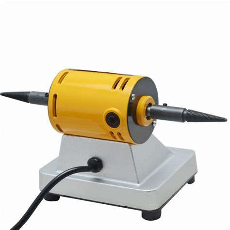 Mini Bench Grinder Buff Polishing Machine For Jewelry