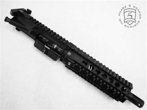 New!! Phase 5 Tactical Ar 15 Cqc Pistol 75 Inch Complete Upper  Ar15 News