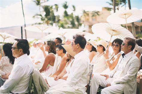 Dreamy White Vintage Wedding