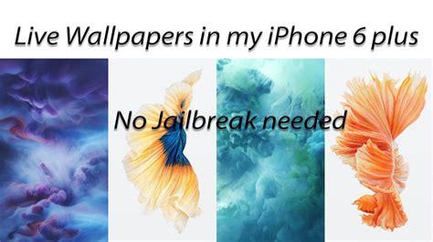 Jailbreak Live Wallpapers by Iphone Live Wallpaper No Jailbreak Gallery