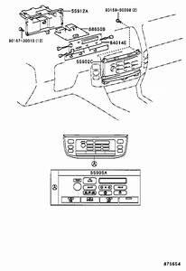 Lexus Lx 470 Instrument Panel Air Duct