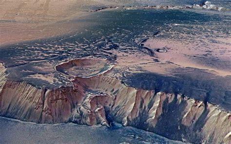 Mars Nasa Crater Stock Photos