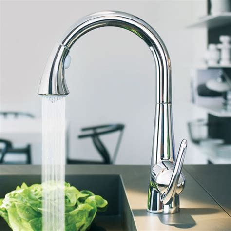 grohe kitchen sink taps buy zedra pull out spray sink mixer chrome 32 294 000 4103