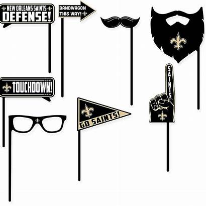 Saints Booth Orleans Props 9ct Icon Email