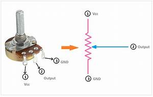 Proper  Potentiometer Connection And Circuit Diagram