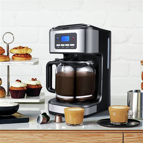 How to clean your thermador coffee machine? 12 Cup Coffee Maker, Stainless Programmable Setting Drip Coffee Maker, Coffee Brewer Machine for ...