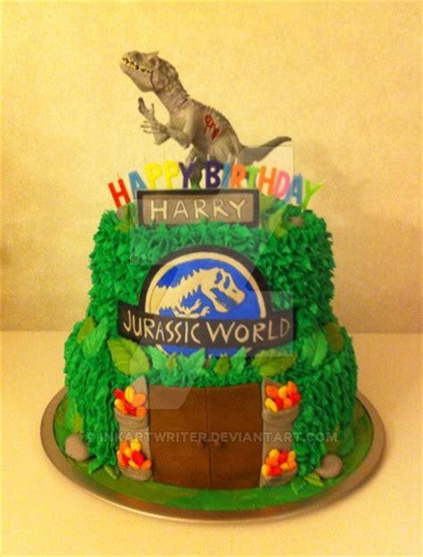 jurassic world cake  inkartwriter  deviantart