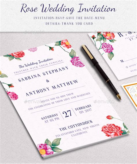 FREE 27+ Elegant Invitation Designs & Examples in