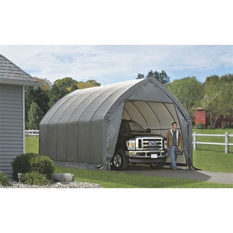 garage in a box free shipping shelterlogic instant garage in a box for