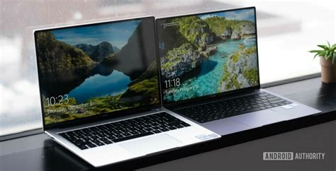 on huawei s sleek new matebook x pro 2019 and matebook 14 android authority