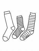 Socks Sock Coloring Pages Drawing Syndrome Shoes Colouring Down Template Printable Pair Students Templates Celebrate Getcolorings Stencil Visiter sketch template