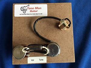 Gibson Les Paul Jr Pre-wired Wiring Kit