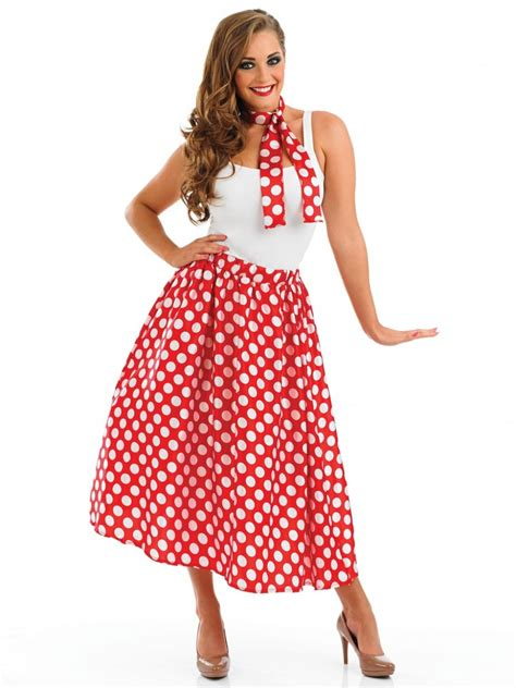 Red 50s Outfit - Fancy Dress and Party