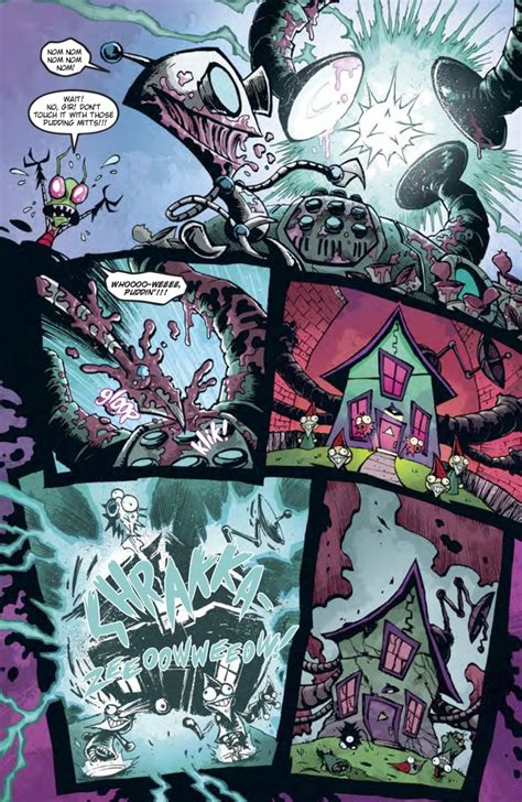 comiclist preview invader zim