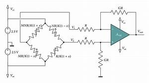 Full Wheatstone Bridge And Differential Amplifier Circuit