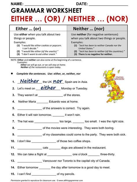 the 25 best grammar worksheets ideas on
