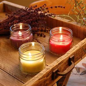 Fresh, Collection, Scented, Candles, 3oz, Mason, Jar, Set, Of, 6