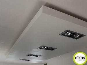 Spot Plafond Cuisine : plafonds de cuisine faux plafond avec spots alu plafonds de cuisine faux plafond et spots ~ Melissatoandfro.com Idées de Décoration