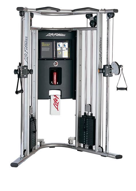 life fitness  cable motion gym  bench shop  powerhouse fitness