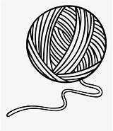 String Ball Clipart Yarn Outline Transparent Clipartkey Clipground sketch template