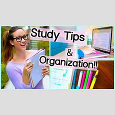 Study Tips + Organization For School ♡ Getting Motivated