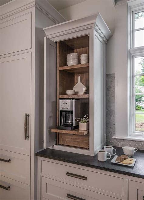wood paneled refrigerator  freezer drawers cottage kitchen benjamin moore decorators