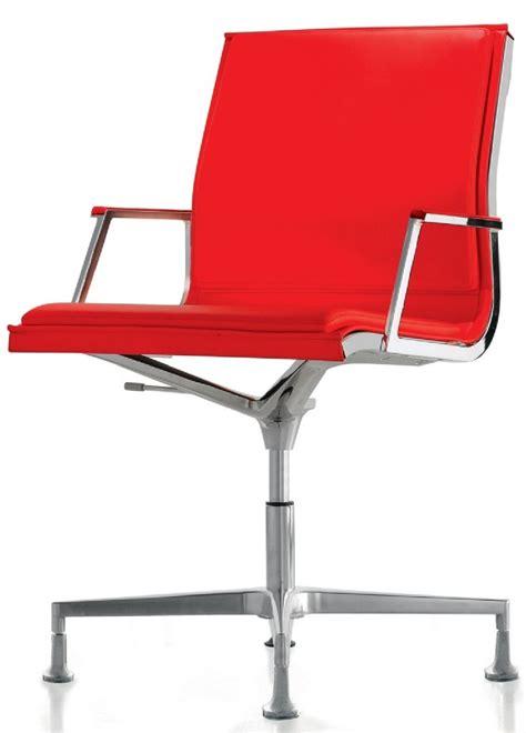 fauteuil design de bureau pied fixe nulite rembourré