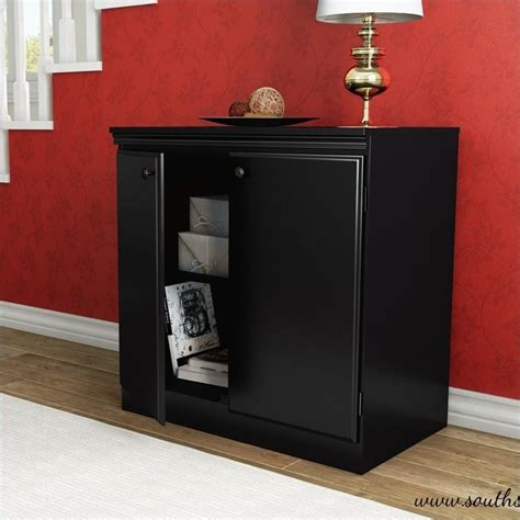 south shore storage cabinet black south shore storage cabinet black 7270722