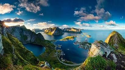Norway Landscape Stunning Reinebringen Landscapes Wallpapers Nature