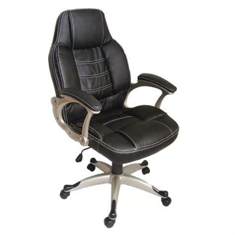 cuir de bureau la boutique en ligne fauteuil de bureau en cuir mélangé