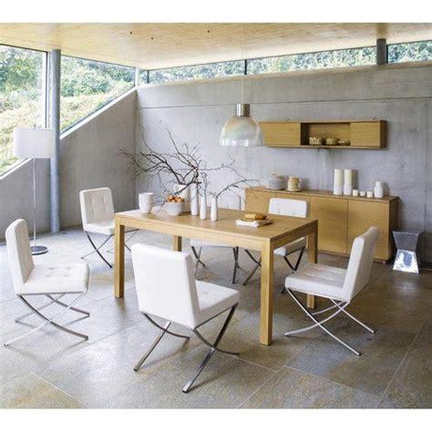 chaise bureau maison du monde chaise blanche design kyoto table buffet et étagère