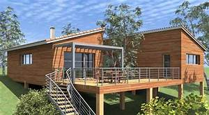 Lame Bois Pour Construction Chalet : les terrasses sur pilotis st phanie bricole ~ Melissatoandfro.com Idées de Décoration