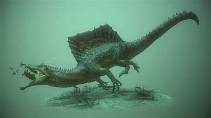 Spinosaurus Bear Aegyptiacus Artstation James Jurassic Dinosaurier