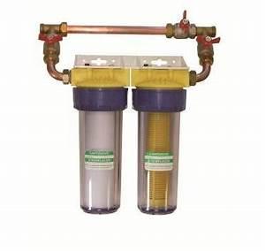 Filtre Adoucisseur D Eau : polar filtre standard duo complet anti tartre corrosion ~ Premium-room.com Idées de Décoration