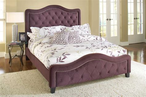 21296 purple upholstered bed hillsdale trieste tufted upholstered bed purple hd 1758