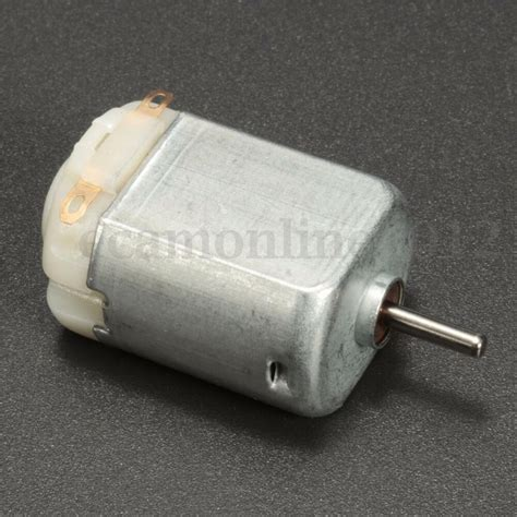 Miniature Electric Motors by Miniature Small Electric Motor Brushed 1 5v 4 5v Dc For