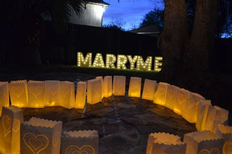 marry me light up letters the best christmas proposal ever diy marry me marquee