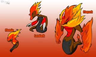 Fan Made Pokemon Starter Fire Snake