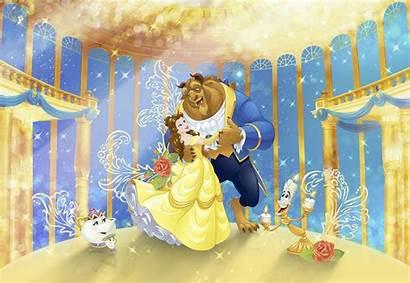 Beast Beauty Disney Photomural Theme Photomurals Worlds