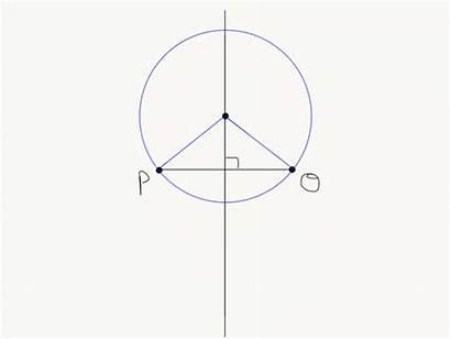 Triangle Point Circumcenter Perpendicular Line Plane Bisector